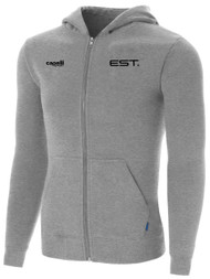 ELITE SPORT TRAINING ZIP  HOODIE -- LIGHT HEATHER GREY