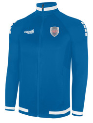 ALBION SAN DIEGO UPTOWN FULL ZIP TRAINING JACKET  --  BLUE WHITE