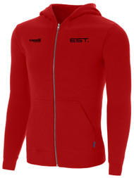 ELITE SPORT TRAINING ZIP  HOODIE -- RED