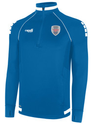 ALBION SAN DIEGO UPTOWN 43834 ZIP TRAINING TOP  --  BLUE WHITE