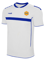 CPSC SPARROW SHORT SLEEVE JERSEY -- WHITE  ROYAL BLUE -- YS IS ON BACK ORDER, WILL BE SHIPPED BY 11/15