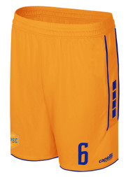 CPSC SPARROW SHORTS -- ORANGE ROYAL BLUE --  YS IS ON BACK ORDER, WILL BE SHIPPED BY 11/22