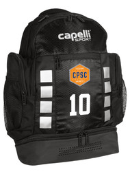 CPSC 4 CUBE BACKPACK -- BLACK SILVER