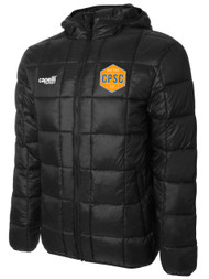 CPSC BASICS LIGHTWEIGHT JACKET WITH HOOD  -- BLACK