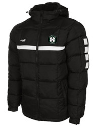 CORNWALL UNITED SPARROW WINTER JACKET -- BLACK WHITE