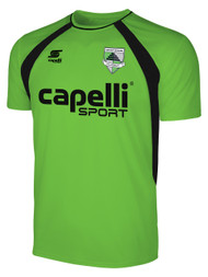 CSA RAVEN TRAINING JERSEY -- POWER GREEN BLACK