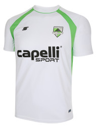 CSA RAVEN TRAINING JERSEY -- WHITE POWER GREEN
