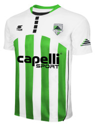 CSA CARACARA SHORT SLEEVE JERSEY -- WHITE POWER GREEN