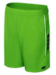 CSA SPARROW SHORTS -- POWER GREEN BLACK
