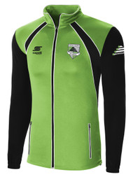CSA RAVEN TRAINING JACKET -- POWER GREEN BLACK