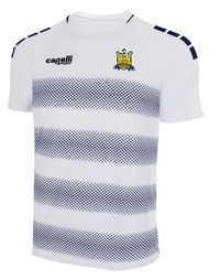 MSA AWAY JERSEY -- WHITE NAVY -- $29-$31