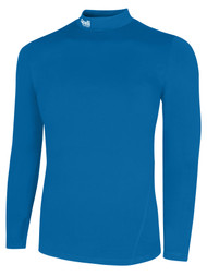 ALBION SAN DIEGO WARM COMPRESSION PERFORMANCE TOP   --  CAPELLI SPORT BLUE WHITE