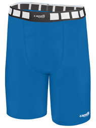 ALBION SAN DIEGO COMPRESSION SHORTS  --  CAPELLI SPORT BLUE WHITE