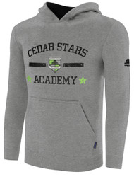 CSA SCREEN HOODIE -- GREY BLACK