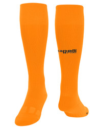 KEY BISCAYNE CS II GOALKEEPER MATCH SOCKS -- NEON ORANGE BLACK