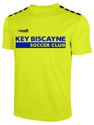 KEY BISCAYNE CS ONE TRAINING JERSEY -- NEON YELLOW BLACK
