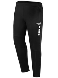 KEY BISCAYNE CAPELLI SPORT UPTOWN TRAINING PANTS -- BLACK WHITE