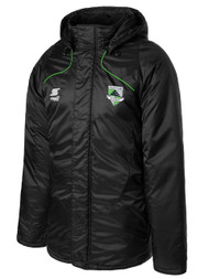 CSA BASIC STADIUM COAT -- BLACK POWER GREEN