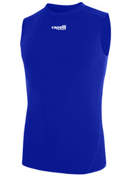 KEY BISCAYNE CAPELLI SPORT SLEEVELESS COMPRESSION PERFORMANCE TOP -- ROYAL BLUE