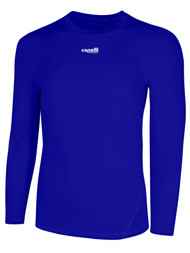 KEY BISCAYNE CAPELLI SPORT LONG SLEEVE PERFORMANCE TOP -- ROYAL BLUE
