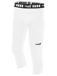 KEY BISCAYNE CAPELLI SPORT 3/4 PERFORMANCE TIGHTS BOYS/MEN -- WHITE
