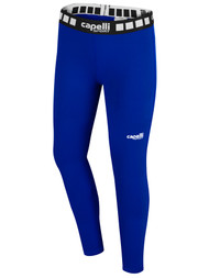 KEY BISCAYNE CAPELLI SPORT FULL LENGTH PERFORMANCE TIGHT GIRLS/WOMEN -- ROYAL BLUE