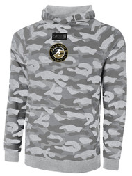 ALLIANCE FC LIFESTYLE FRENCH TERRY CAMO PRINT HOODIE -- LIGHT GREY COMBO BLACK