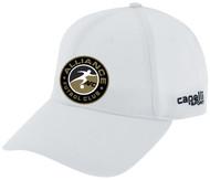 ALLIANCE FC TEAM BASEBALL CAP -- WHITE BLACK