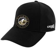 ALLIANCE FC TEAM BASEBALL CAP -- BLACK WHITE