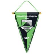 "CSA PENNANT 9"" x 15"" -- GREEN COMBO"