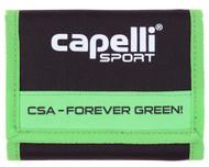 CSA WALLET -- GREEN COMBO