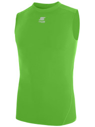 CSA THERMADRY SLEEVELESS PERFORMANCE TOP -- POWER GREEN