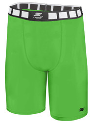 CSA THERMADRY COMPRESSION SHORTS -- POWER GREEN