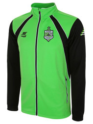NJCSA RAVEN TRAINING JACKET -- POWER GREEN BLACK