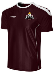 KINGS PARK CONDOR SHORT SLEEVE JERSEY -- MAROON WHITE