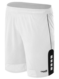 KINGS PARK CONDOR SHORTS -- WHITE BLACK