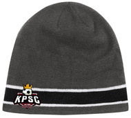 YOUTH KINGS PARK CS ONE STRIPED KNIT BEANIE -- GREY COMBO