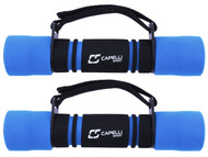 4 LB DUMBBELL WALKING WEIGHTS -- BLUE COMBO