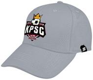 KINGS PARK BASEBALL CAP -- LIGHT HEATHER GREY