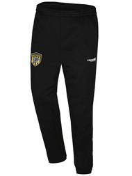 SADDLE BROOK TRAVEL FLEECE SWEAT PANTS -- BLACK WHITE