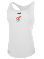 KC COMETS BASICS WOMEN'S RACER BACK TANK -- WHITE  --  IS ON BACK ORDER, WILL SHIP BY 11/15