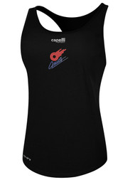 KC COMETS BASICS WOMEN'S RACER BACK TANK -- BLACK  --  IS ON BACK ORDER, WILL SHIP BY 11/15