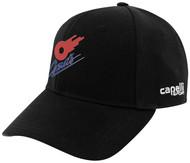 KC COMETS CS TEAM BASEBALL CAP -- BLACK WHITE