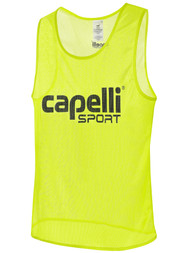 MVLA CAPELLI SPORT TRAINING PINNIE -- NEON YELLOW BLACK