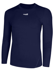 MVLA LONG SLEEVE PERFORMANCE TOP -- NAVY