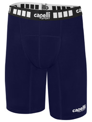 MVLA COMPRESSION SHORTS -- NAVY