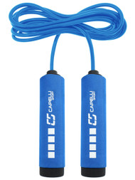 FITNESS COMFORT HANDLE JUMP ROPE -- BLUE COMBO