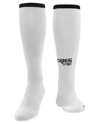 ECLIPSE SELECT ILLINOIS CS ONE SOCCER SOCK -- WHITE BLACK