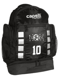 ECLIPSE SELECT ILLINOIS 4 CUBE BACKPACK  --  BLACK SILVER METALLIC
