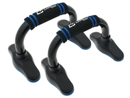 FITNESS PUSH UP BARS W FOAM HANDLES -- BLACK